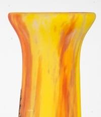 Grande Paire De Vases Daum