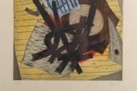 Lithographie encadrée de Goetz