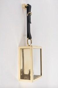 1960s Set of 4 Maison Honoré Brass Lanterns