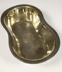 BASIN silver and vermeil by Jules WIESE