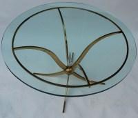 1940' Guéridon ou Table Basse André Arbus de Style