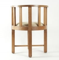 Jallot Léon,paire de fauteuils