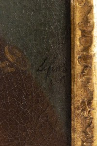 Portrait d'un Gentilhomme. Signé Lefèvre  XVIII