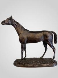 Cheval Arabe Par Jules Moigniez (1835-1894)