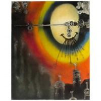 Paul Ackerman (1908-1981) Composition Oil On Canvas.