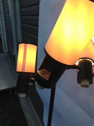 Lampadaire Lunel à 3 lumières orientables 1960's