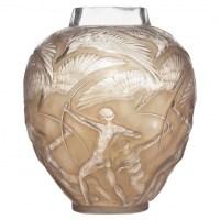 """René Lalique Vase """"Archers"""""""