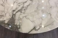 """Knoll & Eero Saarinen : Table""""Tulip"""" marbre"""