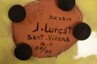 Jean Lurçat (1892 -1966) - coupe en céramique, année 50