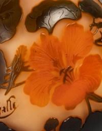 Vase Gallé, Décor floral