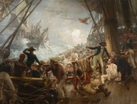 Marine - La bataille de Trafalgar - William Brassey Hole (1846 - 1917)
