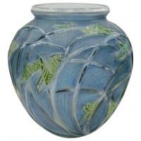 """René Lalique Vase """"Sauterelles"""", """"grasshopper"""""""