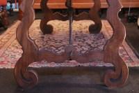 Table espagnole de la fin du 19e siècle