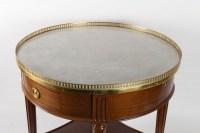 Table bouillotte d'époque Louis XVI (1774 - 1793).