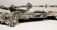 Orfèvre Gustave ODIOT - Surtout de table en bronze XIXe