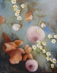 Les Marguerites 2/4 - 146x114 cm