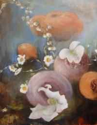 Les Marguerites 3/4 - 146x114 cm