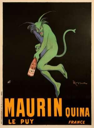 Affiche Leonetto Cappiello - Maurin Quina