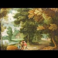 Ecole flamande début 17ème siècle – Huile sur cuivre