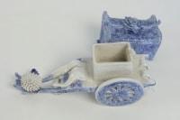 Calèche en porcelaine d'Hirado