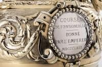 Trophee de courses en argent et vermeil par DUPONCHEL en 1860