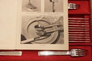 Ménagère en Argent époque Art Déco Orfèvre LAPPARRA & TETARD