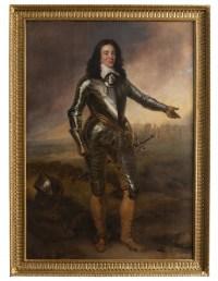 Portrait du Capitaine J.P de Sykehouse attribué Adriaen Hanneman (1603-1671)