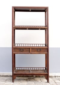 Chinese Shelves of Rustic Style