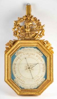 Baromètre d'époque 1er Empire (1804 - 1815).