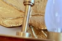 Paire d'Appliques en bronze signée Chrystiane Charles 1970