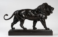 Lion en marche, Antoine-Louis Barye
