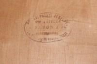 6 Chaises de style Louis XIV vers 1880 par Damont and Co