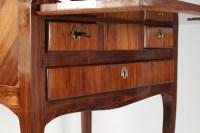 Sloping Desk, Louis XV Style, Precious Wood Veneer, 19th Century
