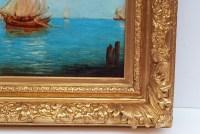 Alfred August Felix Bachman Venice The Lagoon, Painting 19th Century Circa 1890