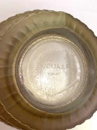 Vase « Chevreuse » verre blanc patiné sépia de René LALIQUE