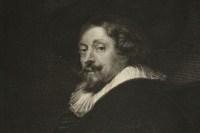 Gravure représentant le portrait de P.P.Rubens