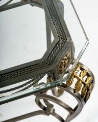 Console en fer forgé, XXème siècle