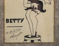 Dessin de Betty Boop par Manuel 1932