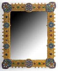 Miroir XIXème, Russie (1850-1870)
