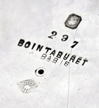 ORFEVRE BOINTABURET - SOUPIERE EN ARGENT - XXÈ