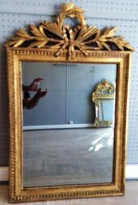 Miroir d'époque Louis XVI, France fin du XVIIIe siècle