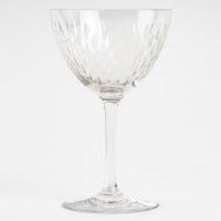 """Service """"Paris"""" cristal blanc taillé - 42 Pièces (40 Verres + 1 Carafe + 1 Pichet) de BACCARAT"""