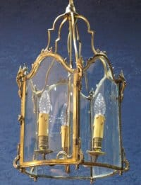 A pair of Louis XV style lanterns, Napoleon III period (1848 - 1870).