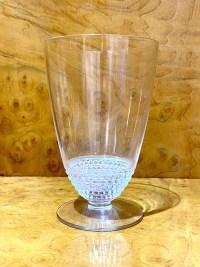 """Service à Orangeade """"Nippon"""" verre blanc de René LALIQUE - 10 verres, 1 carafe"""