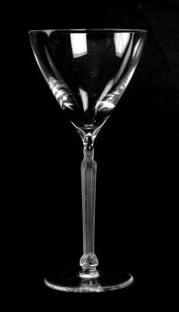 Lalique, verres Saint-Odile
