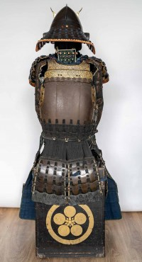Armure japonaise de type roku-dô-gussoku signée Munetaka Myochin 18ème siècle