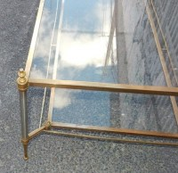 1950/70′ Table Basse Maison Jansen 113 x 64 cm