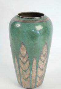 Christofle & Luc Lanel Vase En Dinanderie