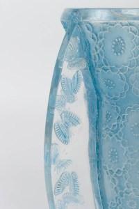 """René Lalique Vase """"papillons"""""""