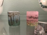 DAUM Vase Miniature Paysage